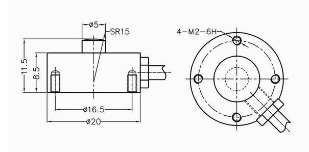 工作测力仪GNS-TX2-W01