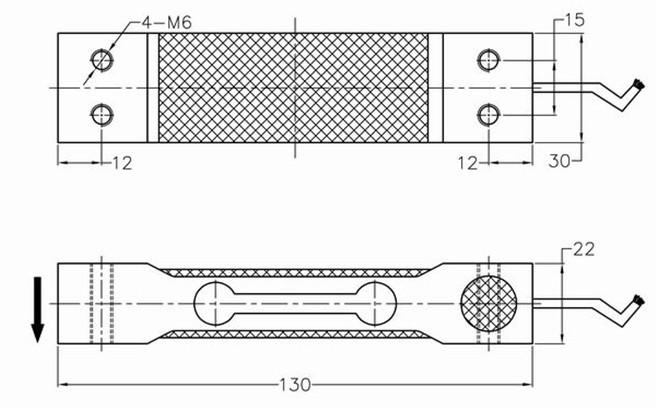 单点式称重传感器gns-d03